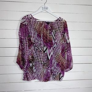 East 5th blouse, sz L